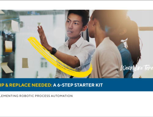 6 Step Starter Kit To Implementing RPA